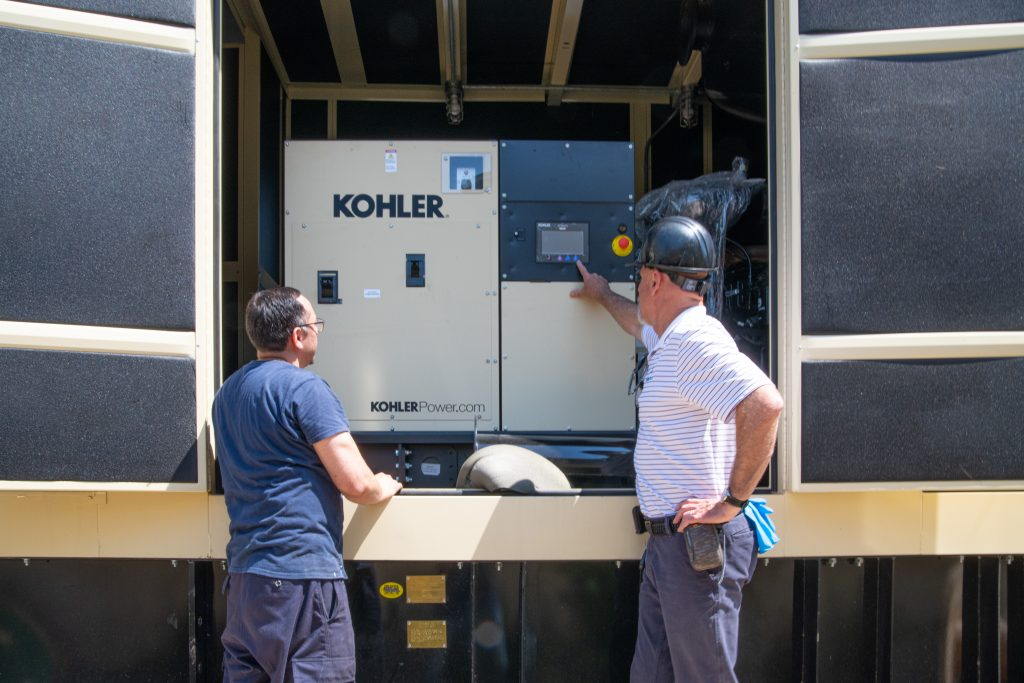 Kohler 500kw installed at new construction hospital in Queens NY
